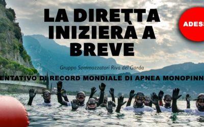 Tentativo di record Apnea 2021